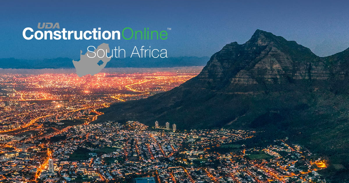 UDA Technologies Debuts New ConstructionOnline South Africa Site