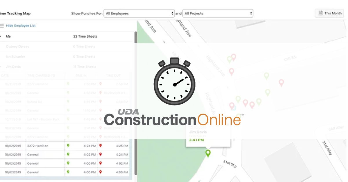 New Geolocation Settings Boosts ConstructionOnline Time Tracking