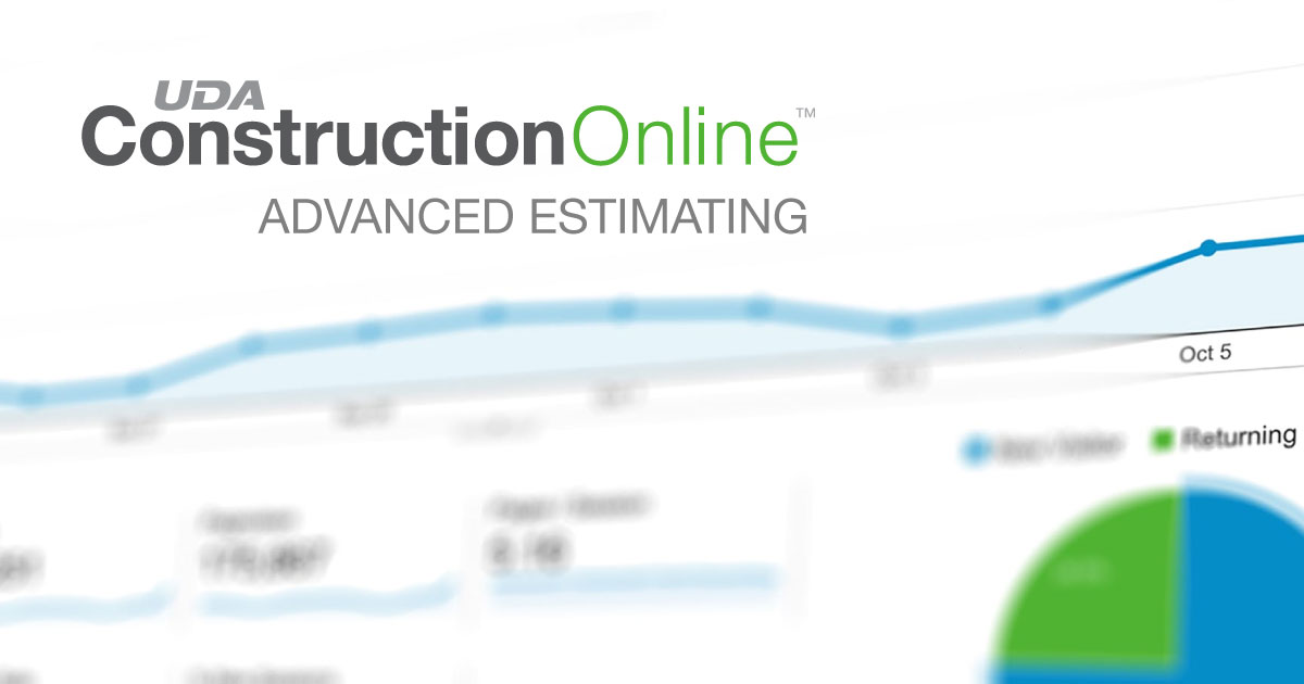 ConstructionOnline™ 2020 Delivers Highly-Anticipated Advanced Estimating