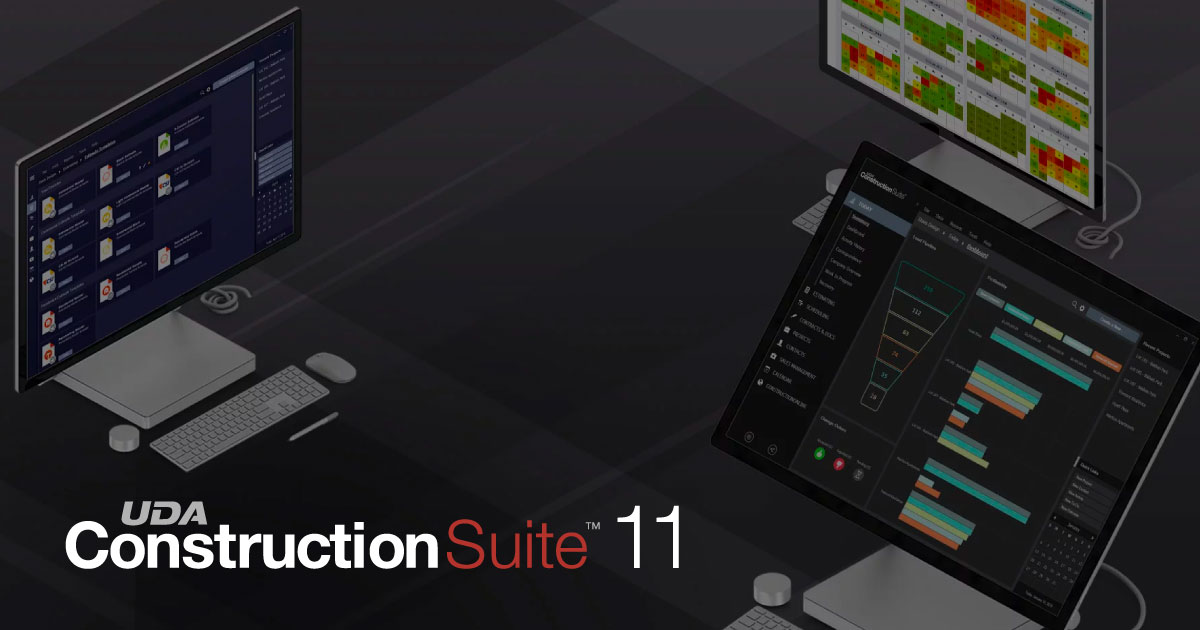UDA Technologies Announces ConstructionSuite™ 11