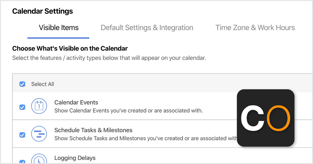 Advanced Filters Added to Calendars & To Dos in ConstructionOnline™ 2020