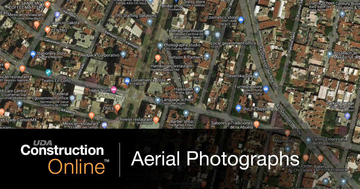 Capture Hi-Res Aerial Photographs in ConstructionOnline