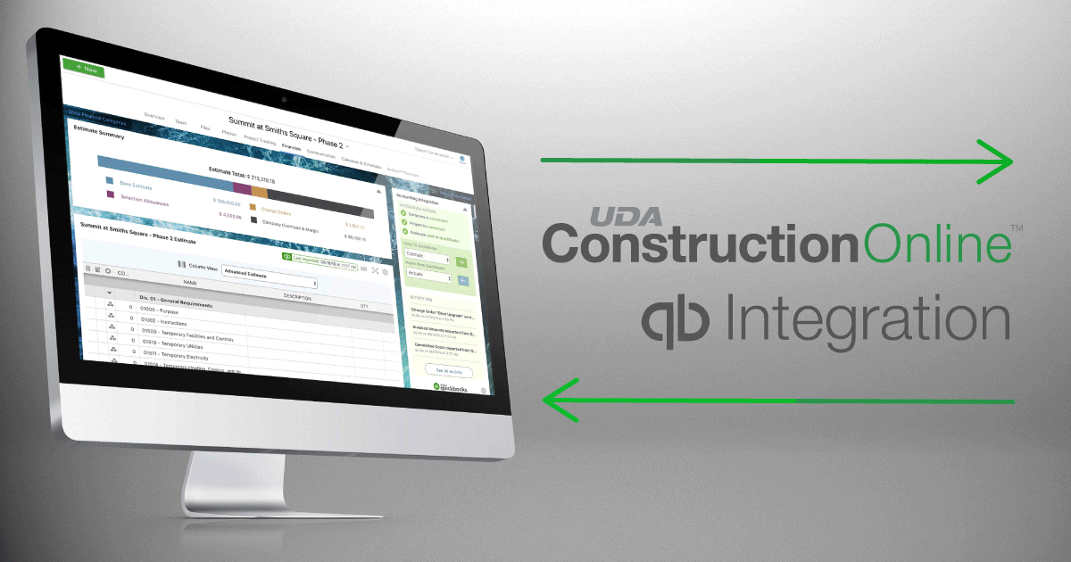 ConstructionOnline™ Delivers Seamless QuickBooks Integration