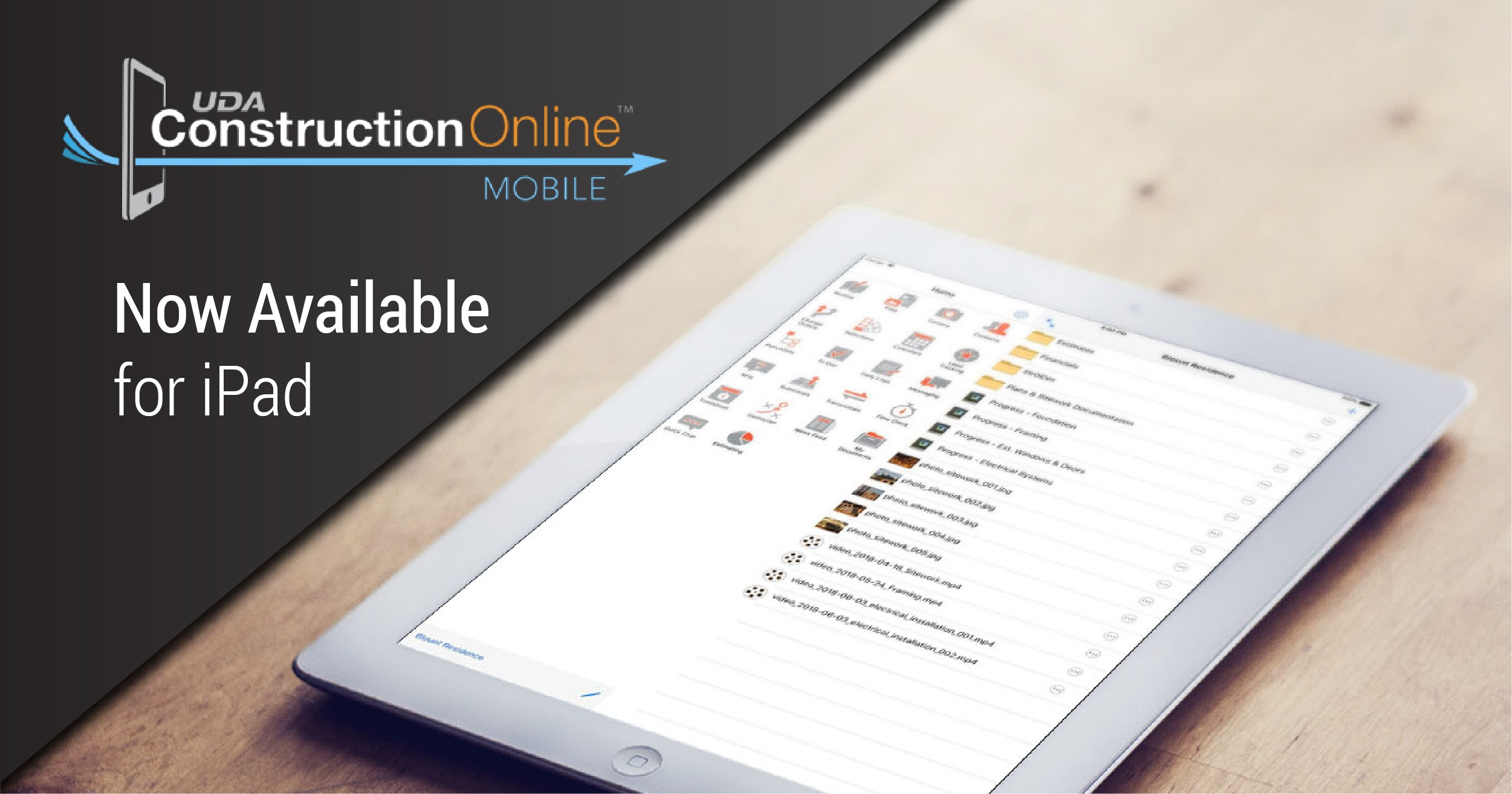 ConstructionOnline Mobile: Now Available for iPad Download