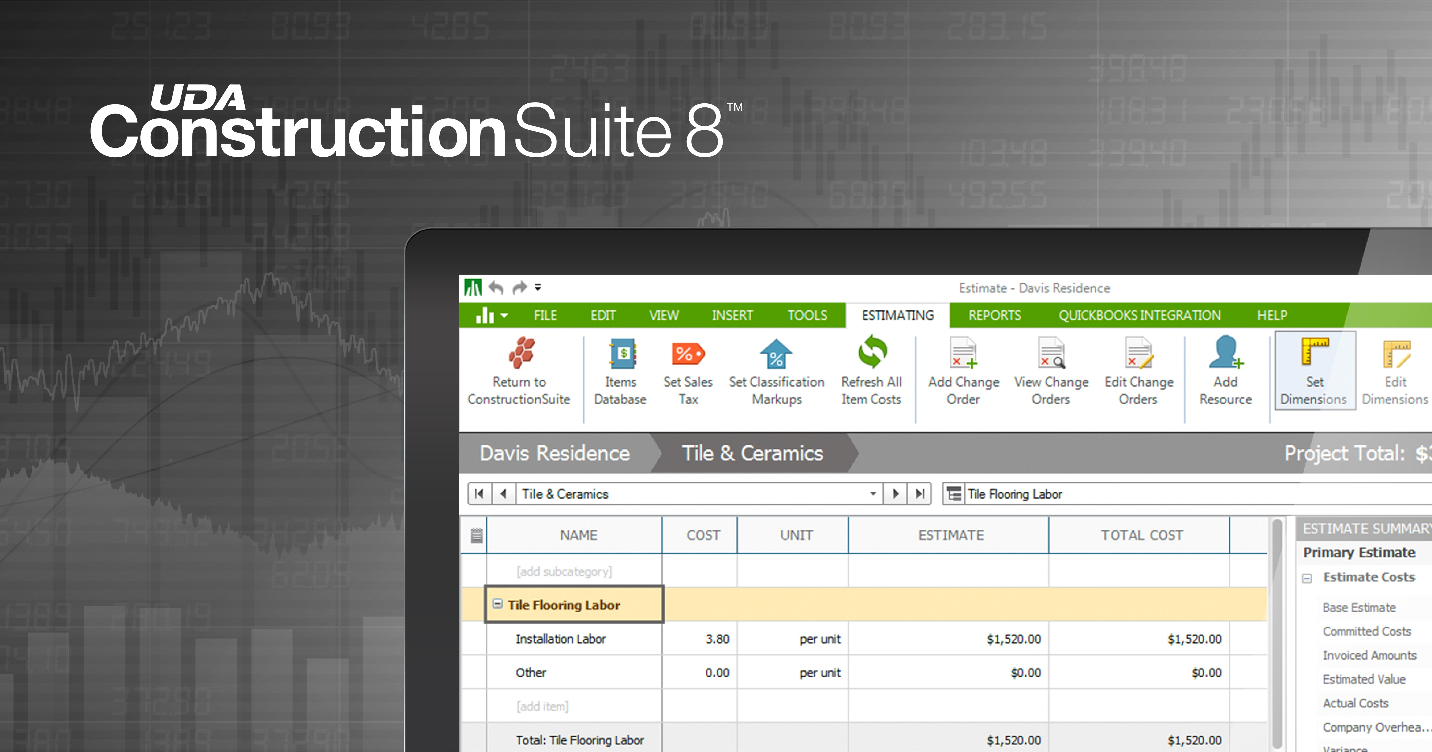 UDA Technologies Provides Latest Cost Data in ConstructionSuite 8