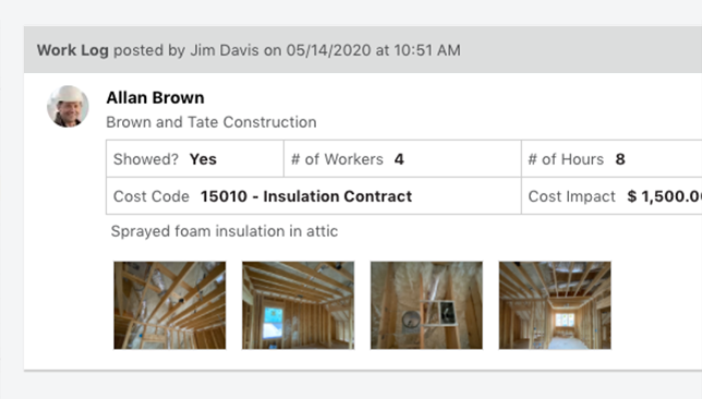 ConstructionOnline Daily Logs Now Available via ClientLink