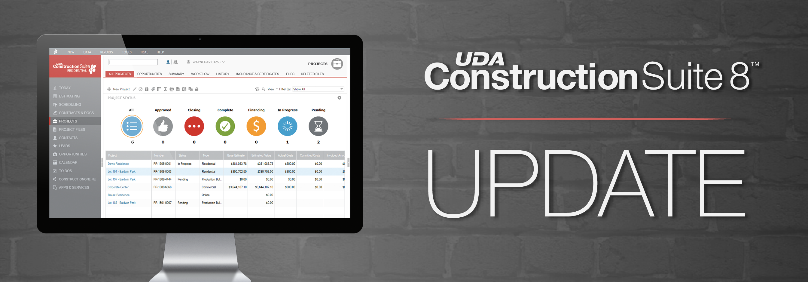 ConstructionSuite 8 Update Brings New Features and Enhancements