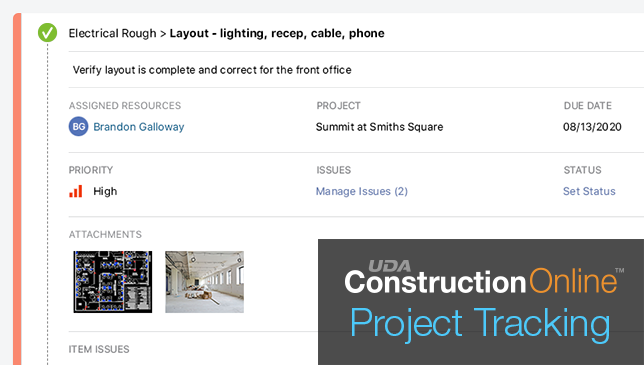 Project Tracking Now Available on Contact Timeline