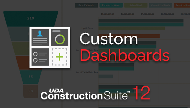 ConstructionSuite 12 Improves Project Visibility with Custom Dashboard Upgrades