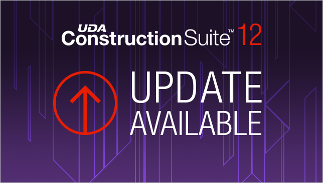Update Available for ConstructionSuite™ 12