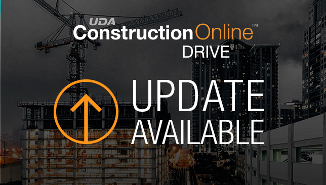 ConstructionOnline Drive Update Now Available