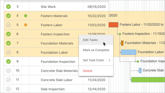 Enhanced Schedule Editing Results in Efficiency Gains for Construction Project Managers