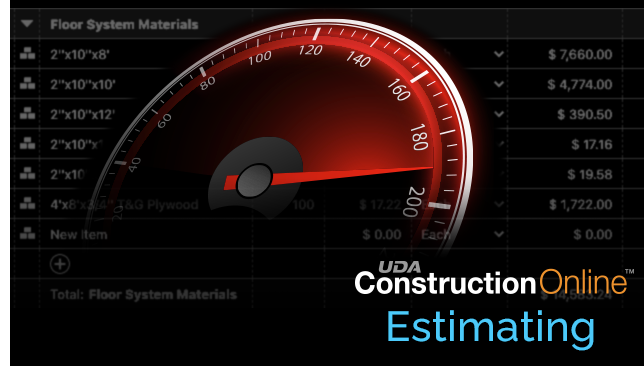 ConstructionOnline Estimating Benefits from Performance Enhancements