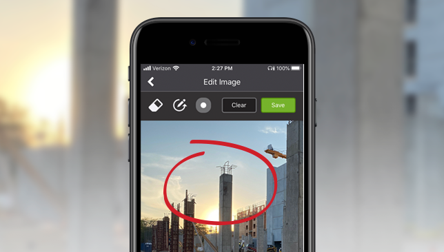 Mobile Image Gallery Enhanced for Picture Perfect Project Management