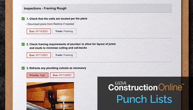 Punch List Report Enhanced to Provide Additional Details for Construction Teams