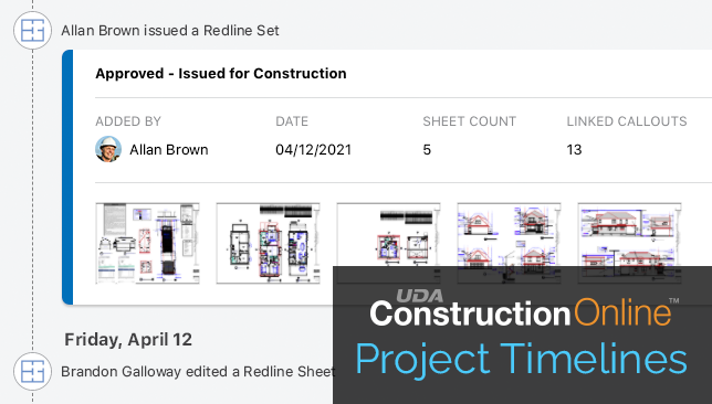 Stay Up-to-Date on Plan Markup & Management from ConstructionOnline Timelines
