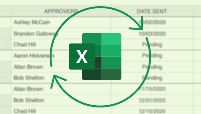 Excel Import/Export Now Available for ConstructionOnline Submittals